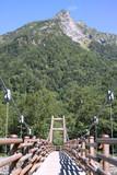 上高地 自然 山と橋
