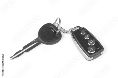 car key with alarm