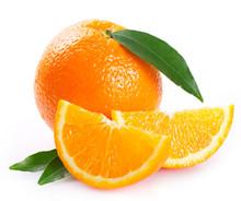 """Постер, картина, фотообои """"Fresh orange"""""""
