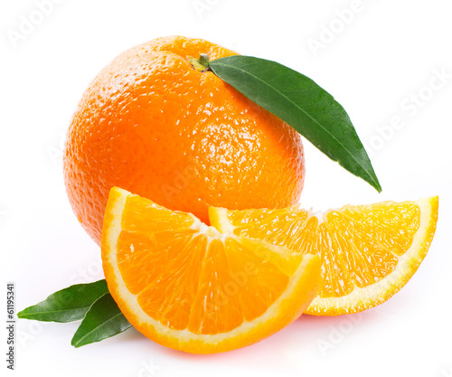 Fresh orange Photo by valery121283