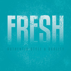 Fresh blue vector design background