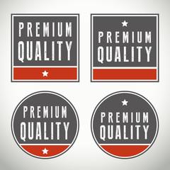 Premium quality vector badges and seals