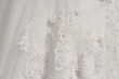 canvas print picture - detail wedding dresses