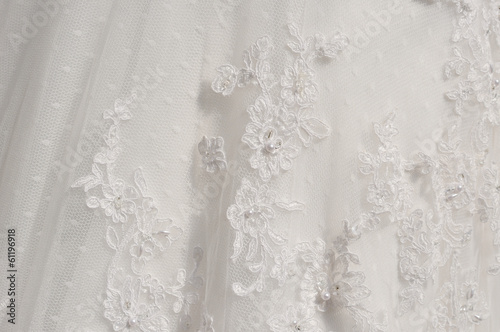 canvas print picture detail wedding dresses