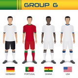 Football 2014 - Groupe G