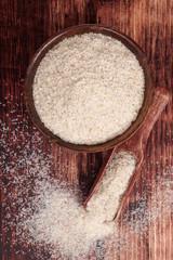 Dietary fiber psyllium.