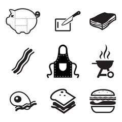 Bacon Icons