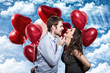 love ballons couple