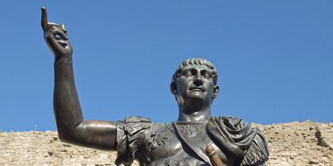 Emperor Trajan Statue