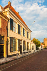 Old town house in Elburg The Netherlands