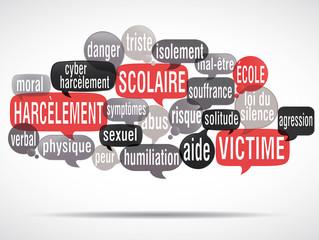 nuage de mots : harcèlement scolaire (cs5)