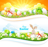 Fototapety Easter backgrounds