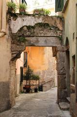 Liguria, cinque terre , tipica via