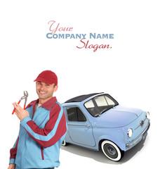 Vintage mechanic