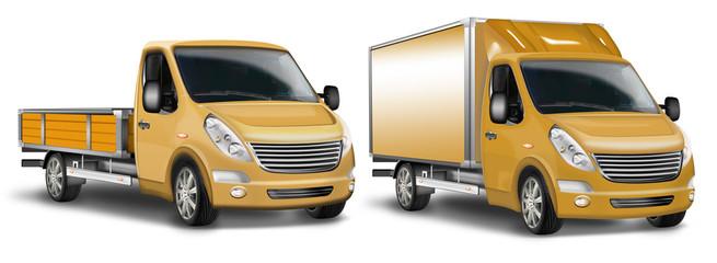 Kleintransporter, Kastenwagen, Pritschenwagen, Transporter freig
