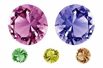 Farbige Diamanten