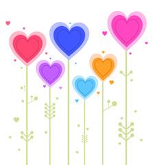 Fleurs amour
