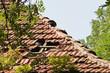 Ein sehr reparaturbedürftiges Dach