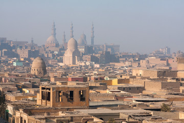 The minarets of Cairo, Egypt