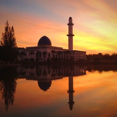 Mosque sunrise