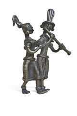 Statuette of Krishna and Radha from the Indian epic
