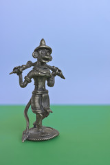 Statuette of the Monkey King from the Indian epic