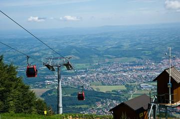 Seilbahn Mariborsko Pohorje