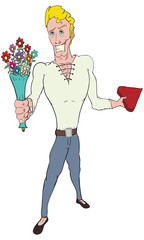 Valentine' day Guy