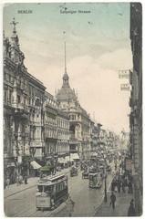 Leipziger Straße in Berlin 1910 (hist. Postkarte)