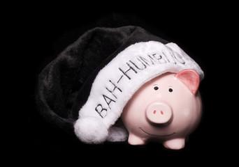 Bah humbug piggy bank