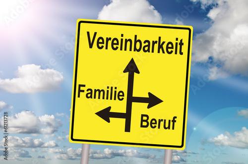 Vereinbarkeit Familie Beruf