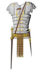 Roman Armor vector