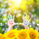 Fototapety Happy hands