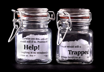 Trapped concept jars