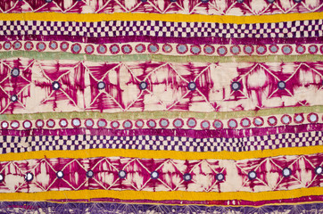 Old Indian tapestry