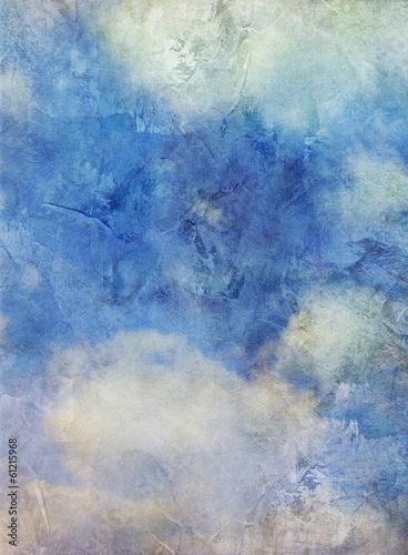canvas print picture wolken leinwand alt