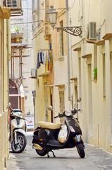 ruelle du sud de l' Italie