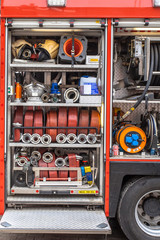 Equipment of a Fire Engine