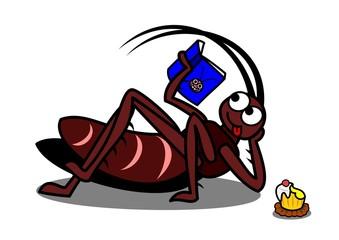 くつろぐゴキブリ