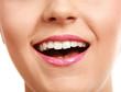 beautiful make up of bright lips.