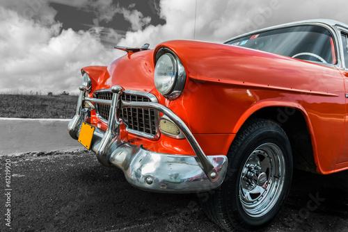 Old american car - 61219920