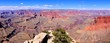 Panoramic view over the vast Grand Canyon, Arizona, USA
