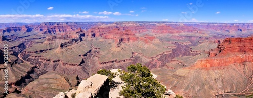 Tuinposter Canyon Panoramic view over the vast Grand Canyon, Arizona, USA