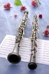 Oboe und Klarinette Sommerfeeling