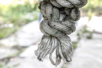 Grunge Nylon Rope