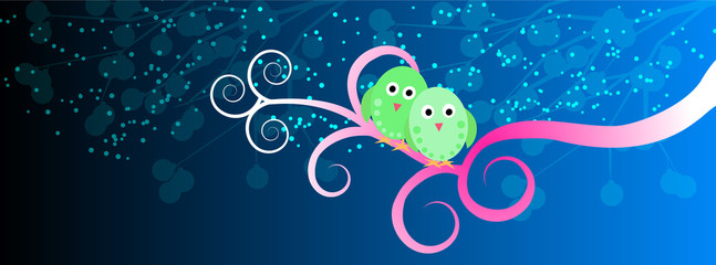 Lovebirds - facebook timeline