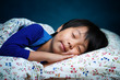 Sweet sleeping Asian child - 61224740