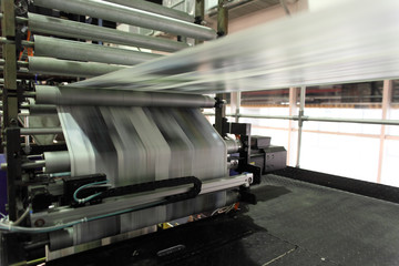 新聞印刷機