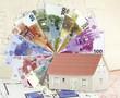 concept financement de l'immobilier sur plan