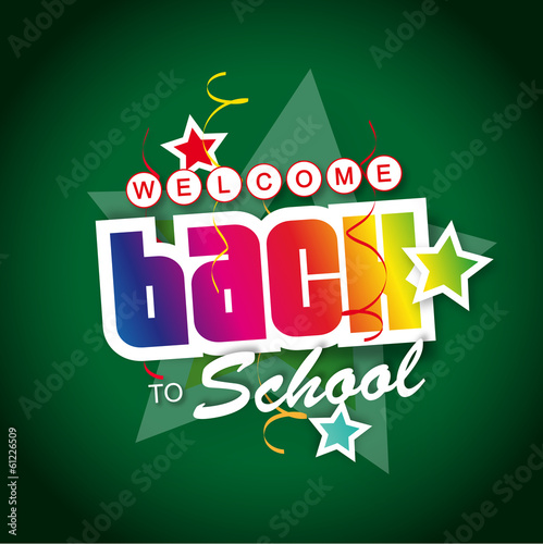 Welcome back to school !
